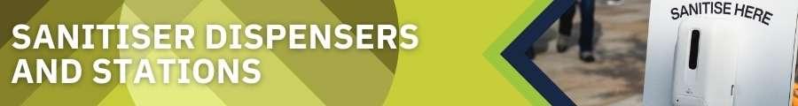 Sanitiser Dispensers & Stations