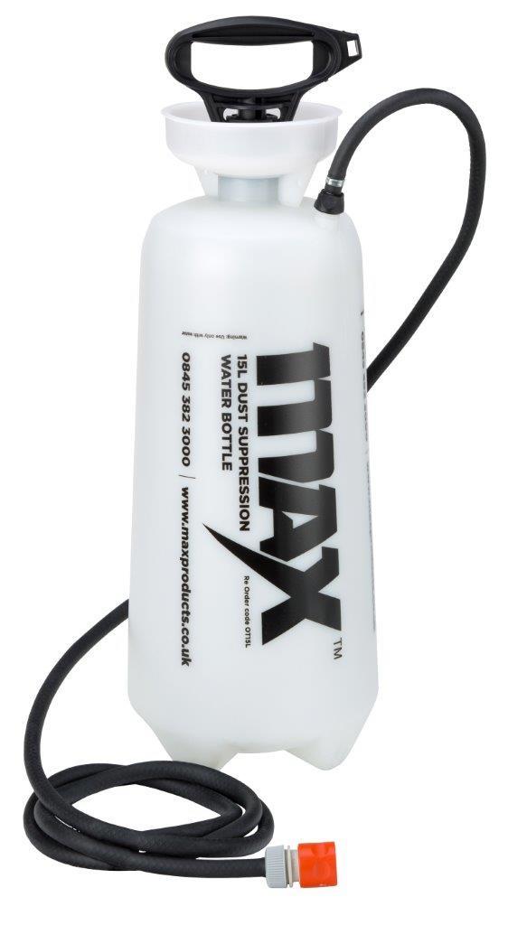 MAX 15L Heavy Duty Dust Suppression Water Bottle