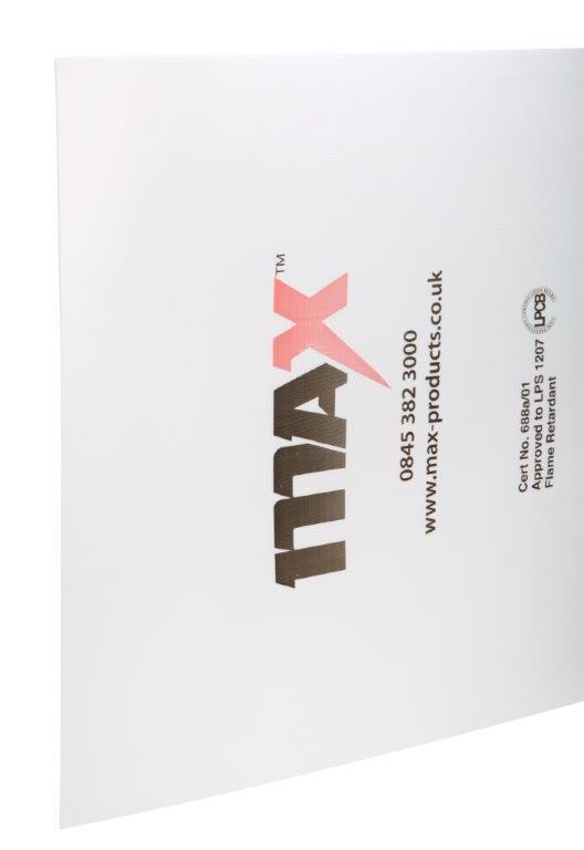 MAX Flame Retardant Corex Sheeting