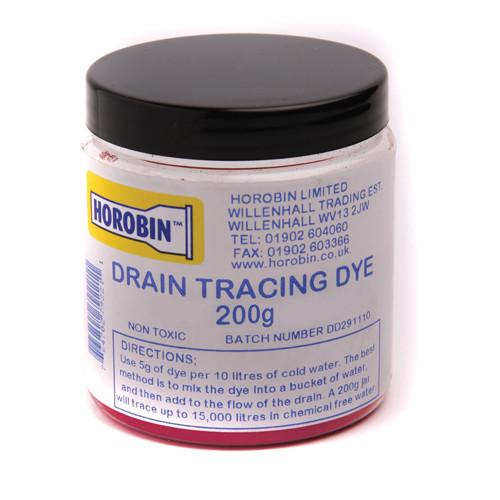 Drain Test Dye - Red - 200g