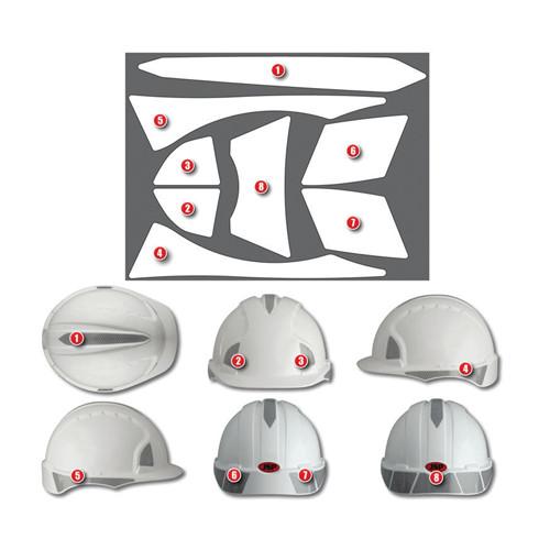 Reflective Helmet Sticker Kits - EVOLite