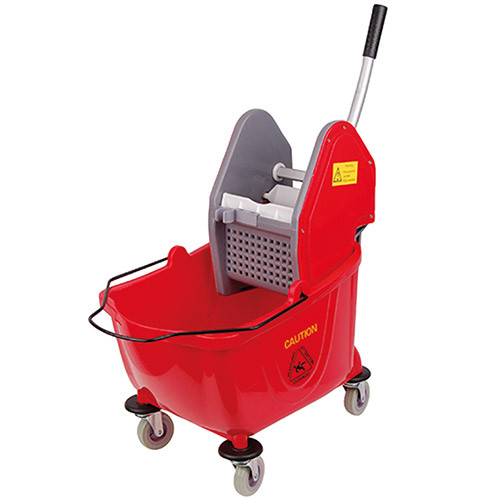 Kentucky Mop Bucket And Wringer C/W Handle/Head