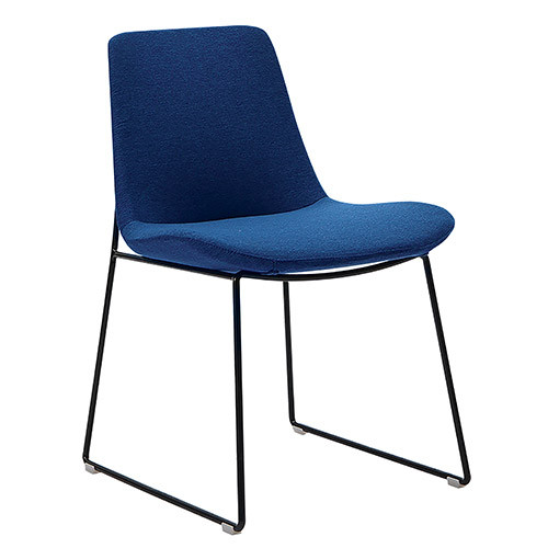 Executive Visitor Chair, Comfortable seat with injection moulded foam - EXBVC