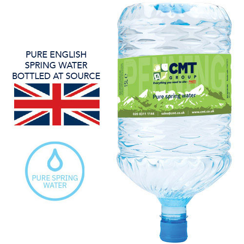 15 Litre Pure English Spring Mineral Water Recyclable Bottle