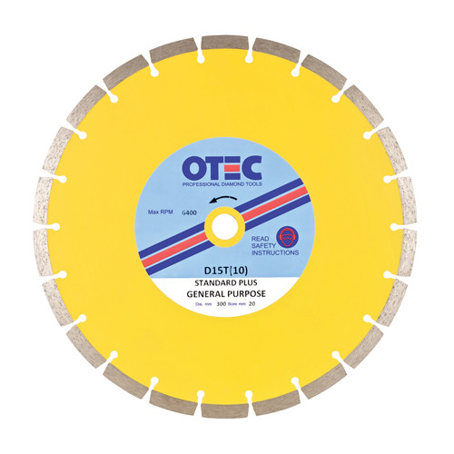 OTEC D15T(10) Standard Plus Multipurpose Blade