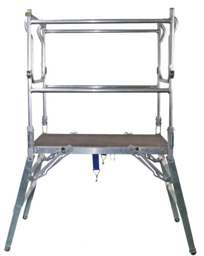 Portable Scaffolding Platform : Safesmart insta deck portable height adjustable folding