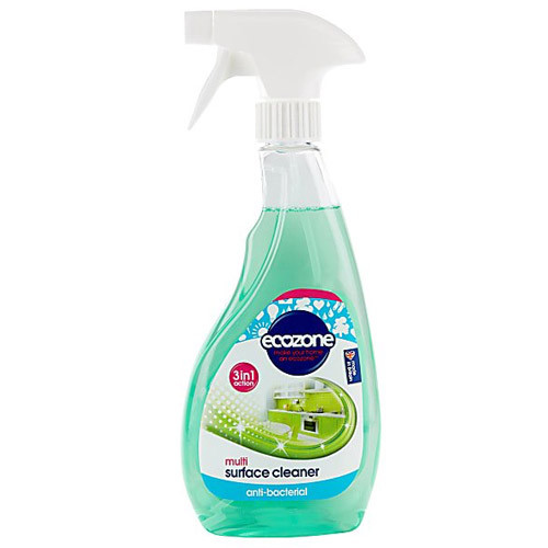 Triple Action Multi-Surface Cleaner Spray, Natural Plant Extracts, Kills 99.9% of Bacteria, Contents: 500ml