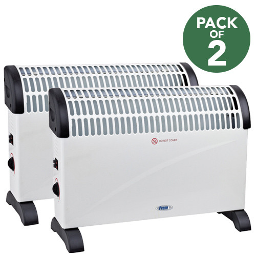 Office Convector Heater 240V 2KW **PACK OF 2**