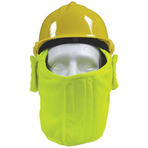 Hi-Vis YellowPolycotton Winter Helmet liner
