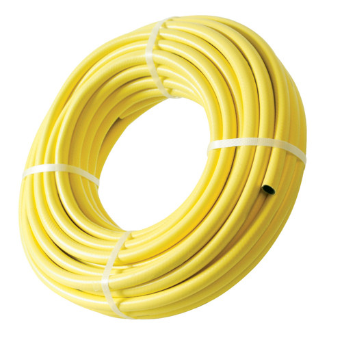 Yellow 30m Reinforced Contractor Hose 12mm Dia