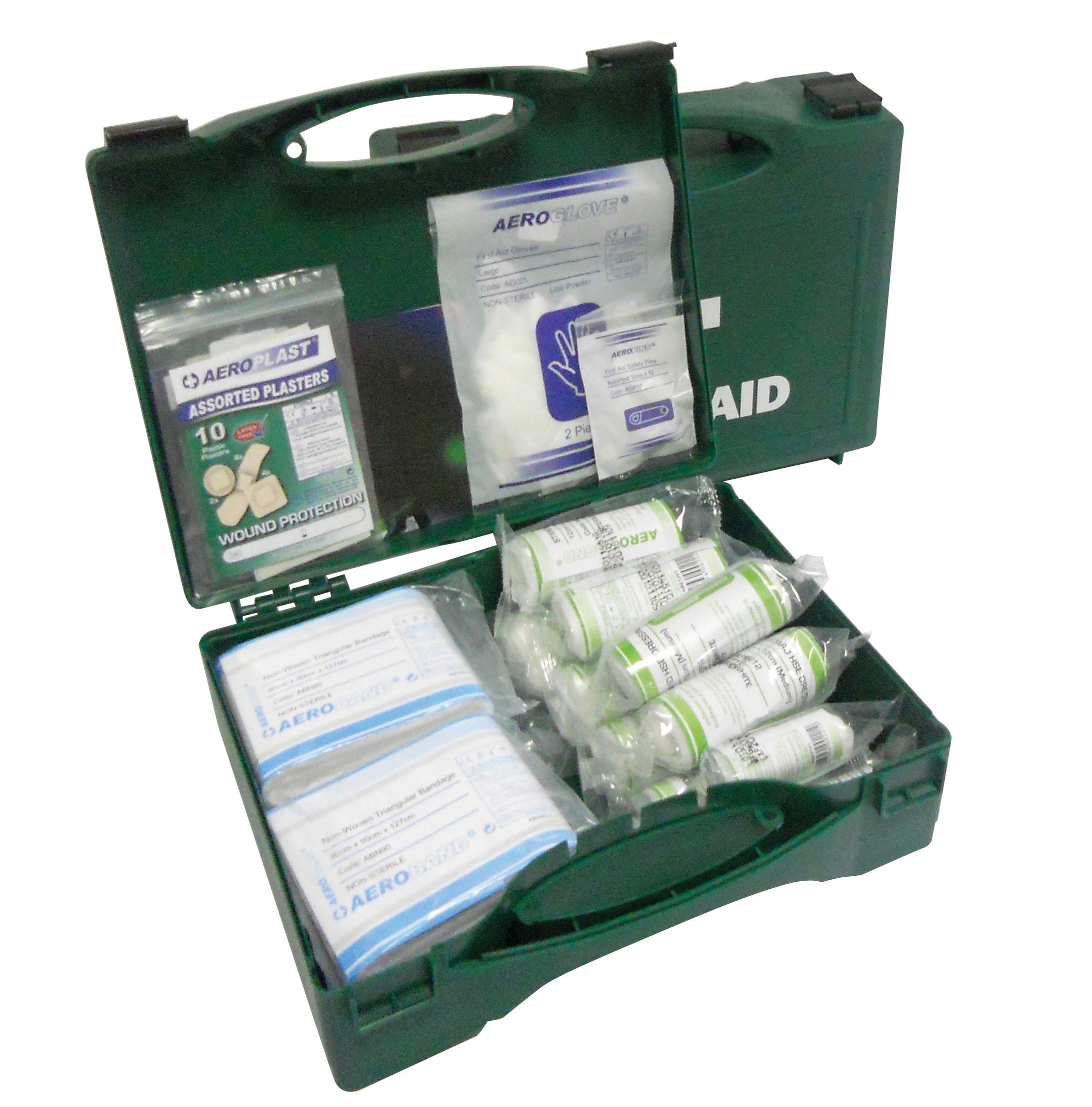 10 Person First Aid Kit With Eyewash