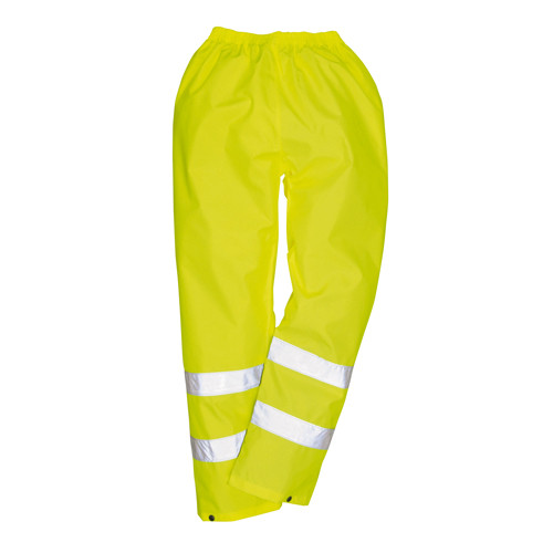 Hi Vis Nylon Rain Trousers - Yellow