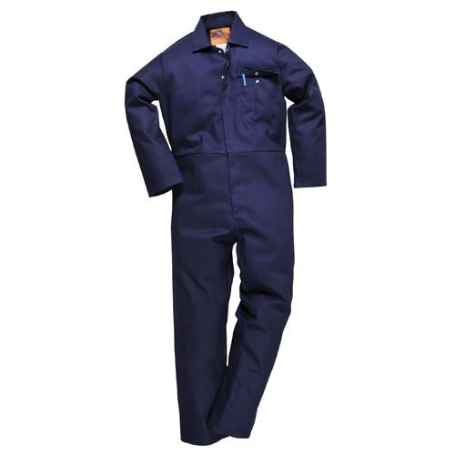 """Flame Retardant Boiler Suit Navy - 4XLarge Regular (31"""" Leg)"""