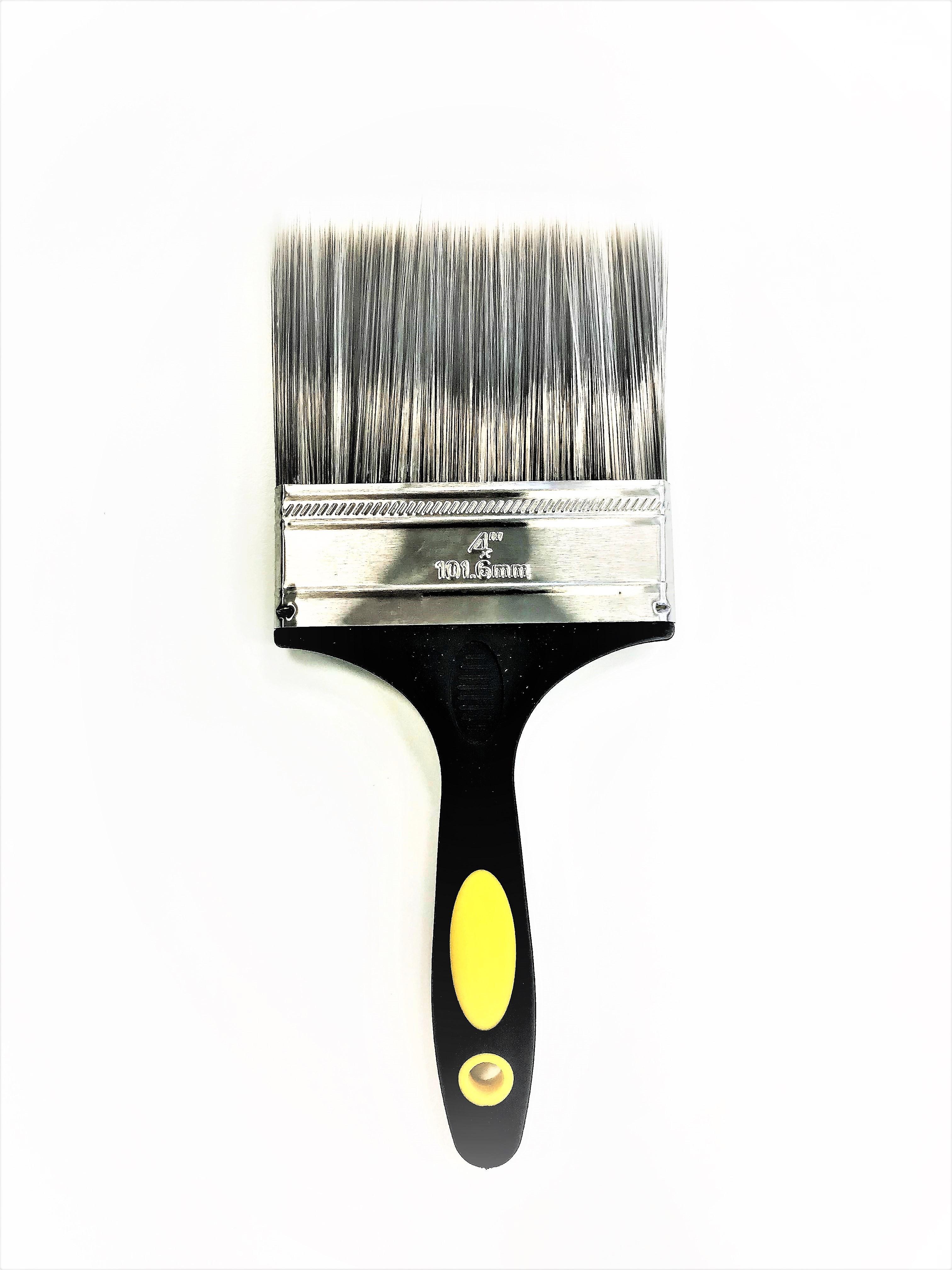 "4"" Professional Paintbrush - Plastic Handle"