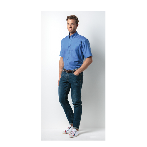 Oxford Weave Shirt Short Sleeves