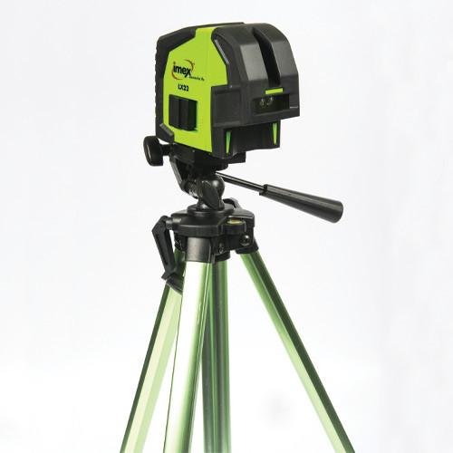 Imex Palm Cross Line Laser C/W Tripod