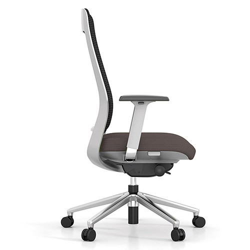 Executive Task Chair, Breathable mesh back, 4D armrests, Executive Furniture - EXMTCBB