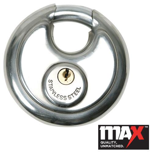 70mm Stainless Steel Discus Padlock