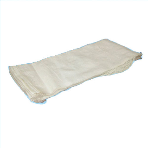 Polypropylene Sandbag - White