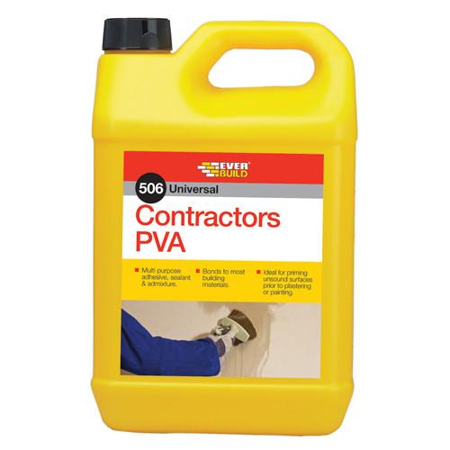 5 Litres Contractors PVA Glue