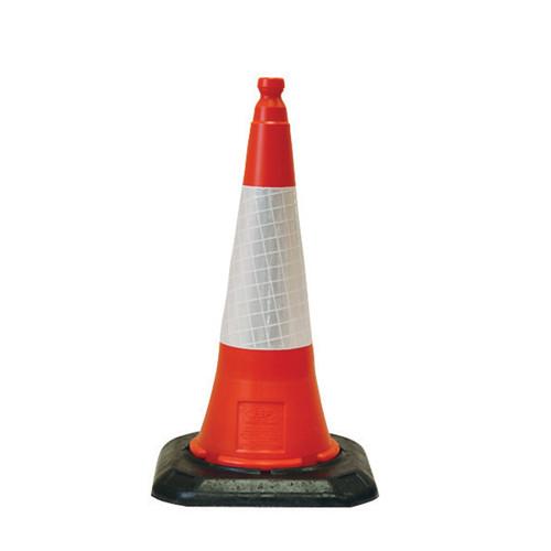 2 Piece Road Cone - 1m