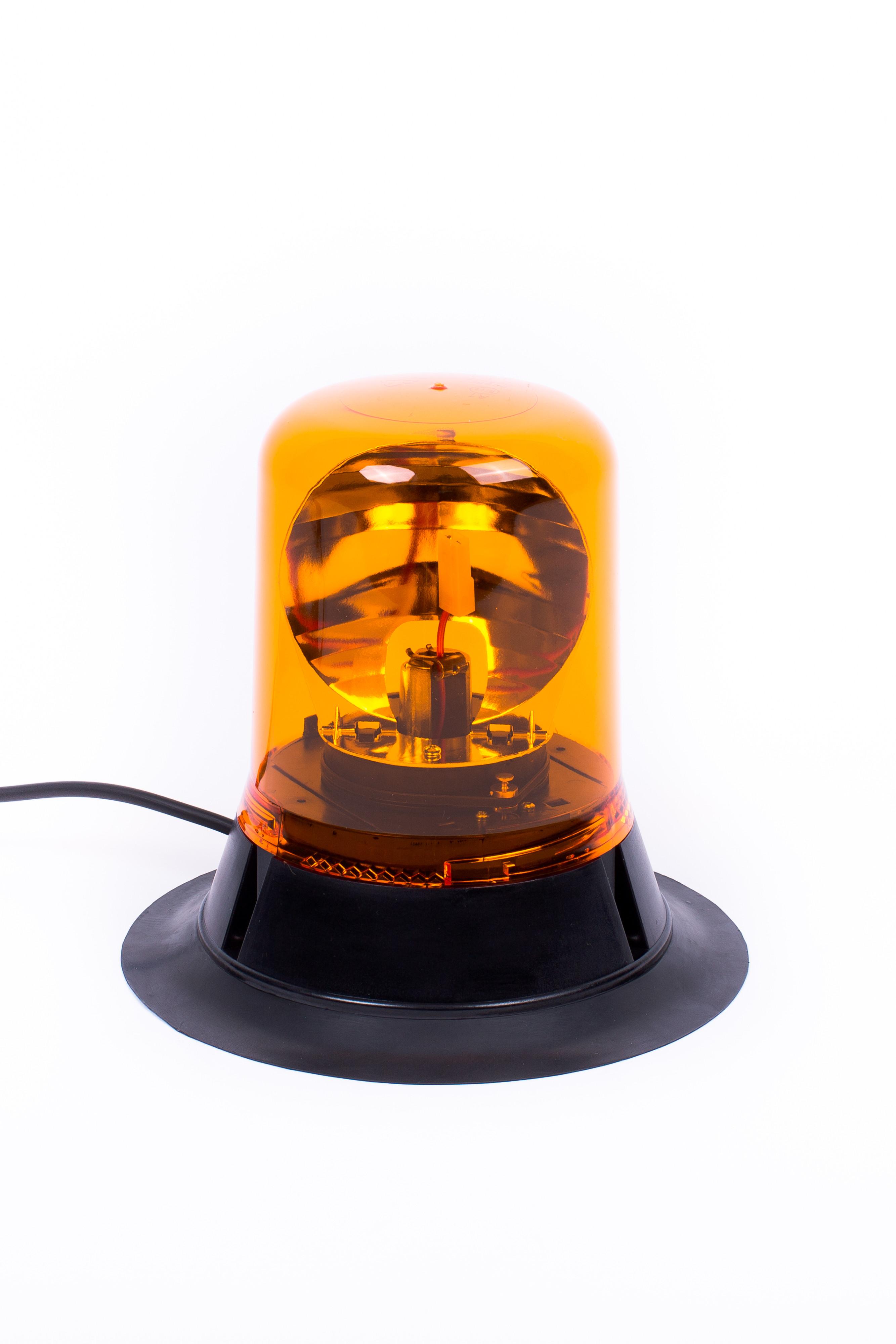 Amber Rotating Beacon 12 V