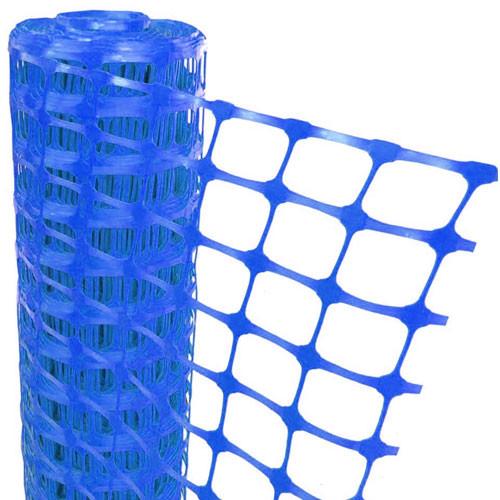 Blue Mesh Barrier Fencing - 50m