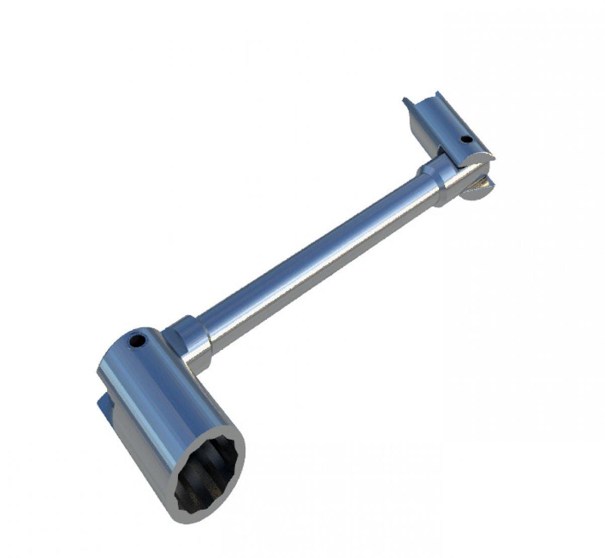 SECURASITE Lockable Grip Lock Coupler Spanner for Heras fencing