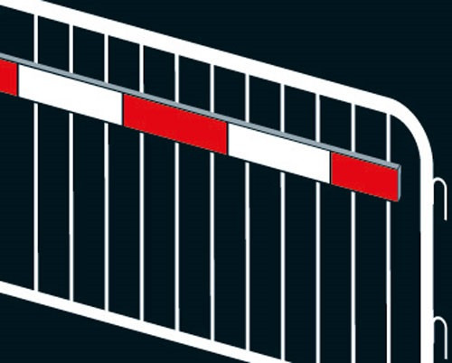 SECURASITE Reflective Boards To Suit Mesh Heras Fencing Panels