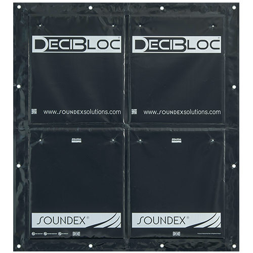 DeciBloc CurtainPlus 1/2 Width 1.86m width, weight 8kg