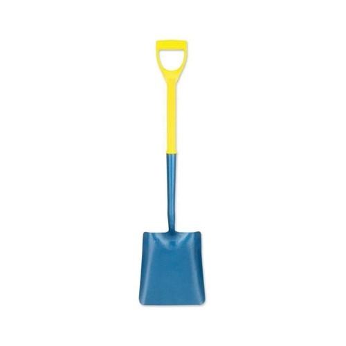 Square Mouth Shovel - Fibreglass Handle