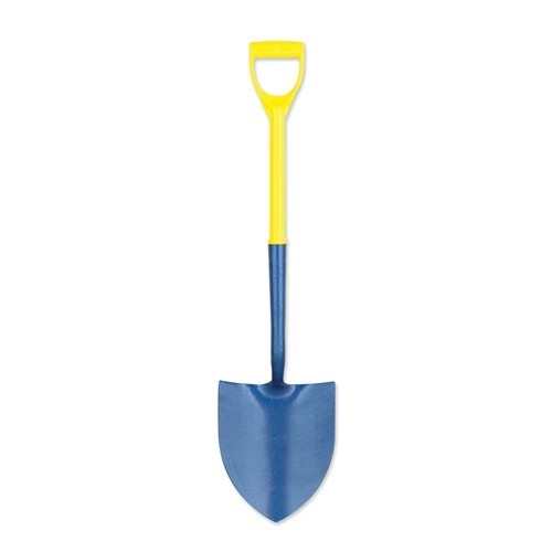 Round Mouth Shovel - Fibreglass Handle