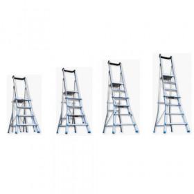 Telescopic Platform Ladder, Load Rating 150 Kg, 4 - 7 Step,  AdjustaStep - 200134