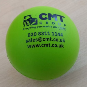 CMT Stress Ball * With Compliments *