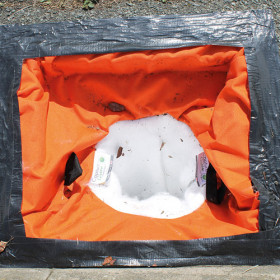 EnvironHorn Drain Filter Sediment