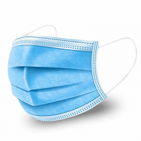 Certified Type IIR Face Mask | Blue | Pack of 50