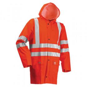 Hi Vis FR AS & Arc Rain Jacket Hi Vis Orange S