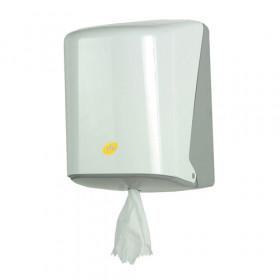 Centre feed roll dispenser