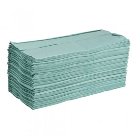 Green Paper Hand Towels - C-Fold
