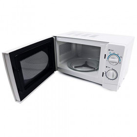 White Standard Microwave Oven