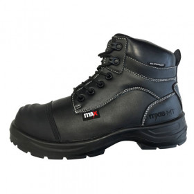 MX18 Waterproof M-Guard Scuff Cap Black Safety Boot - Size 8