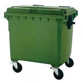 Green Wheelie Dust Bin