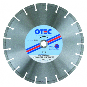 Concrete Products Super Premium Diamond Blade | OTEC Z15