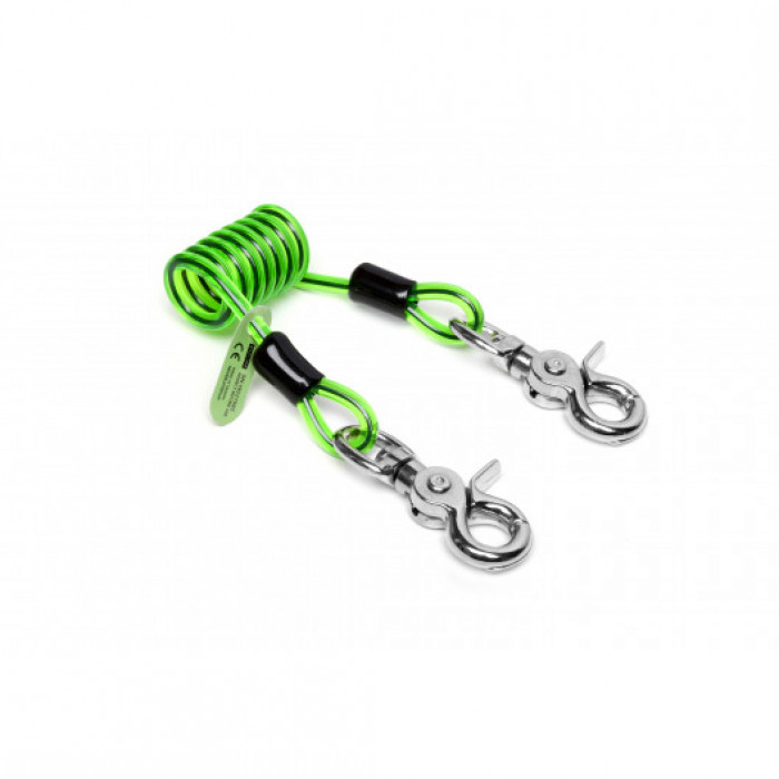 Short Coiled Lanyard