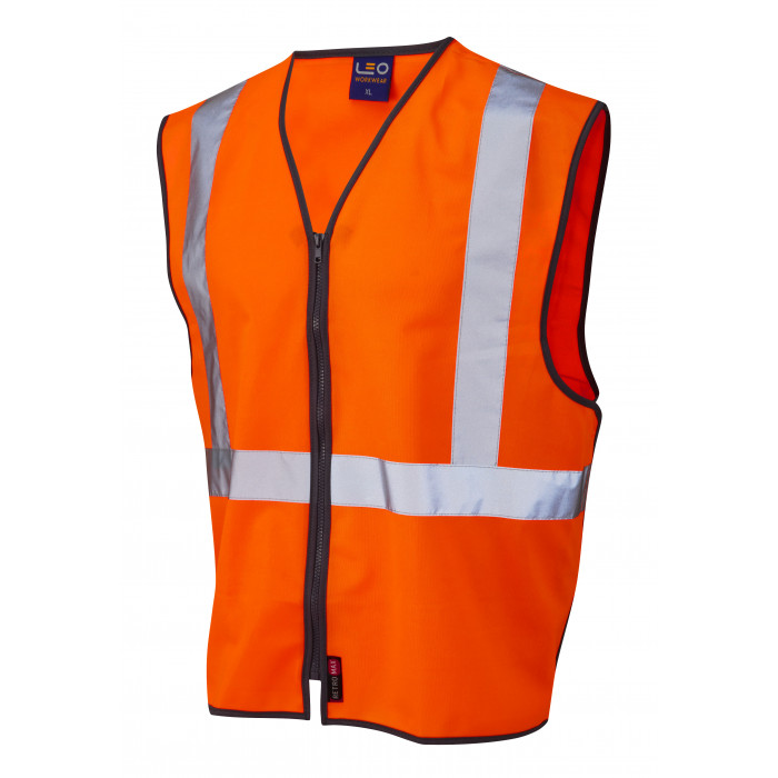 3 Part Polyester Vest - Zip