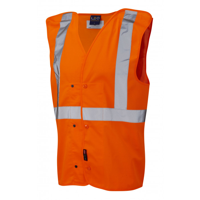 London Underground Vest - Orange