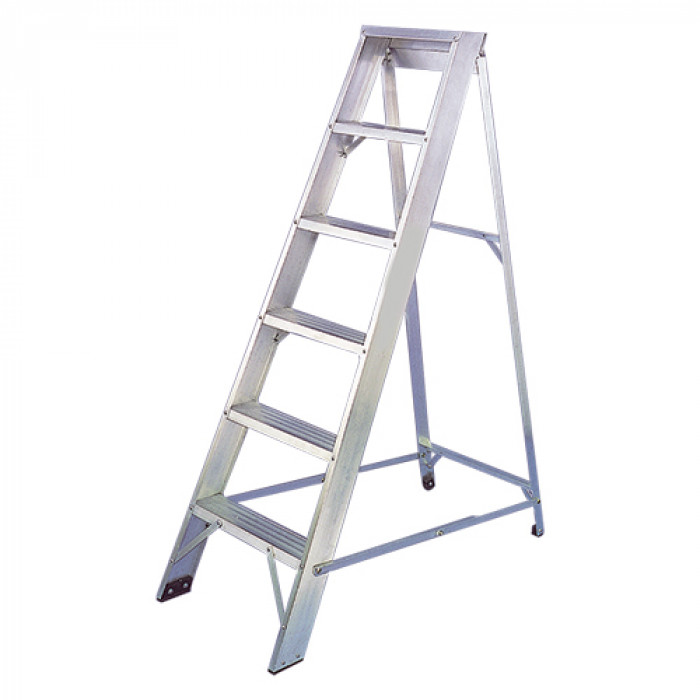 Aluminium Swing Back Step Ladders