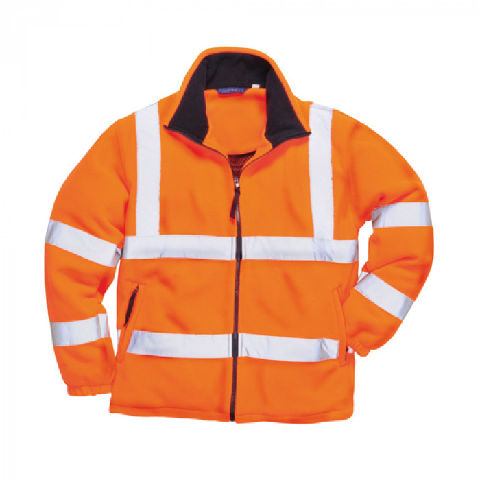 Hi Vis Mesh Lined Fleece