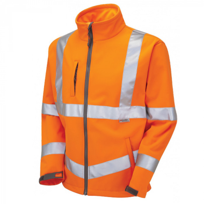 Hi Vis Contrast Soft Shell Jacket