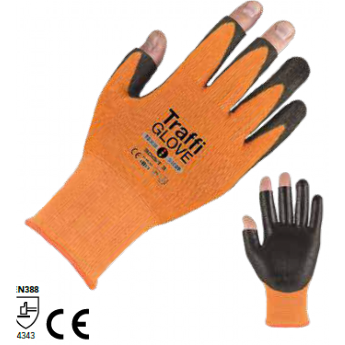 3 digit polyurethane gloves
